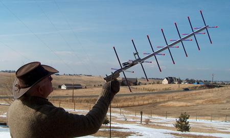 OAL 7CP-70cm antenna