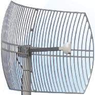 DC24 dish antenna
