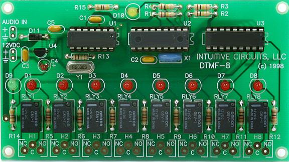 DTMF-8 board