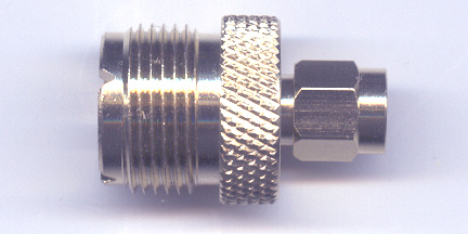 SMA plug to UHF jack