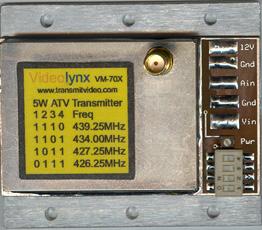 VM-70X ATV Transmitter