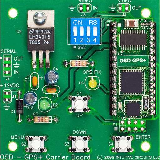 OSD-GPS+ board