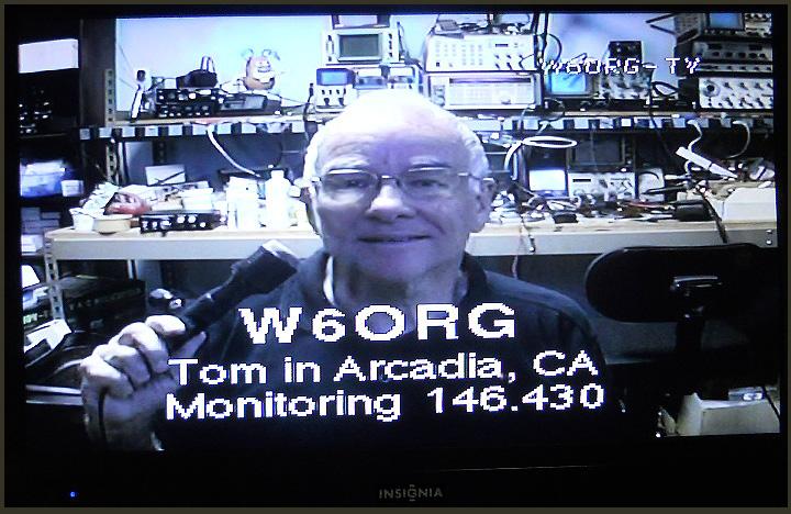 Off air OSD-ID W6ORG